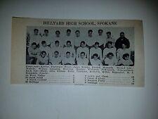 Hillyard Spokane North Junior Spokane Washington High School 1930 Football Team