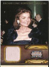 JACQUELINE JACKIE KENNEDY 2012 PANINI AMERICANA LEGENDS MATERIAL SP 050/299