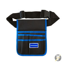Silverline 5 pocket Tool Pouch Belt with long quick release waist strap