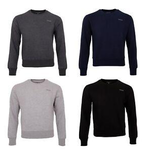 NORDBURY Mens Sweatshirt Jumper Sweater Work Casual Sweatshirt Top Crew neck