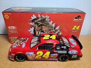1997 Jeff Gordon #24 DuPont / Jurassic Park The Ride 1:24 NASCAR Action MIB