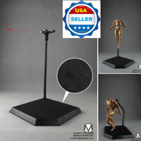 "Dynamic Stand For 12"" Action Figure Hot Toys Phicen Display *USA FREE SHIPPING*"