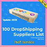 ✅ 100 DropShipping Suppliers List ✅ Drop Shipping