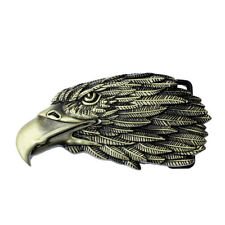 Men's Belt Buckle Fashion Classic Western 3d American Popular Eagle Head