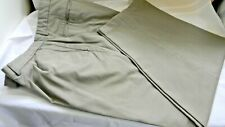 "GEOFFREY  BEENE Dress  Pants Pleated Olive Green... Size  40 x 30 (actually 28"")"