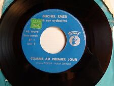 "MICHEL EMER & SON ORCHESTRE : Parce qu'un air d'accordéon 7"" 45T STARWAY 1001"