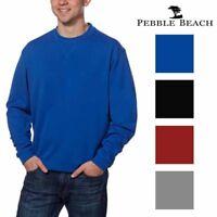 Pebble Beach Mens Performance Golf Pullover Shirt