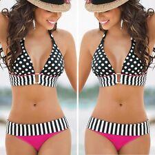 Women Bandage Bikini Set Padded Bra Push-up Beach Swimwear Swimsuit Bathing Suit