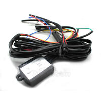 Car LED DRL Daytime Running Light On Off Relay Harness Automatic Control Dimmer