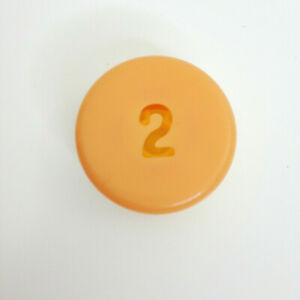 Pop the Pig Hamburger Replacement Game  Part Piece Yellow # 2