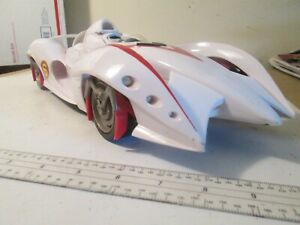 Toys Hot Wheels Speed Racer Mach 6 Big Sounds Edition Works Excellent