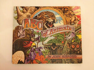 """Ex. Cond. Rare 1975 Collectible, Beautiful Colour """"ABC of Animals"""", John Hurford"""