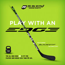 Raven Edge 20 Flex Right Hand Hockey Stick! JR Junior Youth Atom Stick, C88 Kane