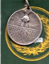 WW1 WW2 MEDAGLIA ARGENTO PROFONDAZIONE ARMA CARABINIERI REALI