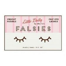 Little Dolly Falsies fusible felt eyelashes by Elea Lutz for Penny Rose Fabrics
