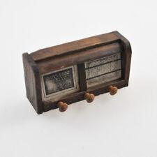 Old Radio - Miniature - Doll's House - Musiktruhe - Musikschrank - Vintage 30'