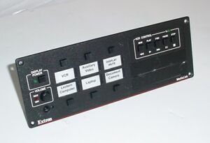 Extron MLC 206 MediaLink Controller with VCR Control Module and 2 AAP Openings