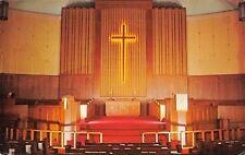 Washington Iowa~First Methodist Church Sanctuary~Pastor's Message 1973