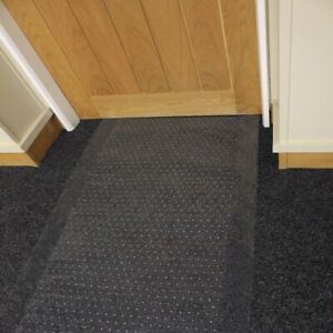 "Duty Clear Vinyl Plastic Carpet Protector Floor Mat Plastic 9 FT Long Width 27"""