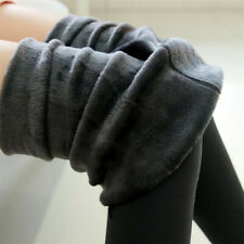 Women Winter Thick Warm Soft Fleece Lined Thermal Stretchy Skinny Leggings Pants