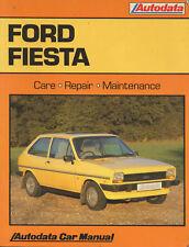 Fiesta Ford Car Owner & Operator Manuals