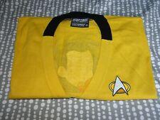 More details for mustard yellow star trek cardigan black trim xl