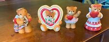 Lucy & Me - Lucy Riggs - Enesco Teddy Bear - Lot of 8 vintage bears -hearts