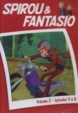 DVD Spirou et Fantasio Volume 2 épisode 5 à 8