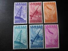 ITALY Sc. #C116-C121 mint stamp set!