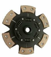 6 PADDLE CERAMETALLIC CLUTCH PADDLE PLATE FOR A FORD SIERRA HATCHBACK 2.8 XR 4X4