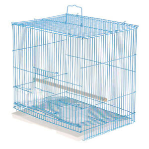 Bird Cage Easy Install Parrot Cage for Finch Budgie Cockatiel Macaw Small Animal