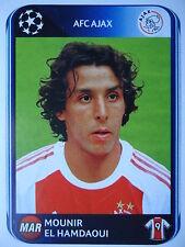 Panini 463 Mounir El Hamdaoui Ajax Amsterdam UEFA CL 2010/11