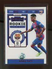 2019 Panini Chronicles Contenders Tmall Red Ansu Fati RC Rookie