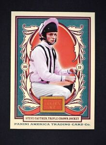2013 Panini Golden Age #109 Steve Cauthen - NM-MT