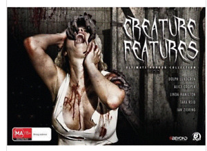 CREATURE FEATURES - 6 DISC BOX SET..REG 4..NEW & SEALED   TS