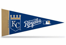 """Offically Licensed MLB Kansas City Royals Mini Pennant  9""""x4"""" Made in USA"""