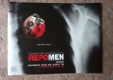 Repo Men (Heart) 2009 Cinema Poster UK Quad. RECALLED: WRONG RELEASE DATE