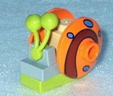 SPONGEBOB #12 Lego Gary the Snail orange NEW Spongebob's pet 3827 Genuine Lego