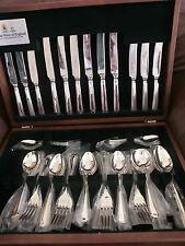 Arthur Price Grecian Sovereign Grade Silver 44 Piece Cutlery Canteen RRP £1485