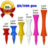 Plastic Step Down Golf Tees System Evolution Castle Tee Height 6 Colors 50/100
