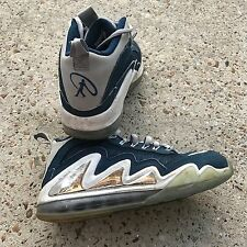 VTG NIKE Air Max 360 Diamond Griffey Size 7.5 Brave Blue/ Wolf Grey 580398 402