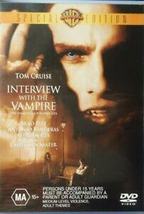 INTERVIEW WITH THE VAMPIRE DVD_Special Edition_Region 4_Brad Pitt