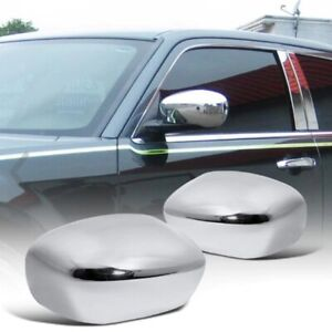 Fit 2005-2010 Chrysler 300 300C Magnum Chrome Side Mirror Covers Overlay