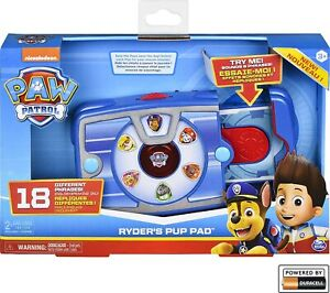 PAW Patrol Ryder's Interactive Pup Pad with 18 Sounds & Phrases - Genuine