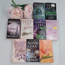 Amanda Quick Books 9 Lot PB Romance Mistress I THEE WED Ravished SURRENDER +