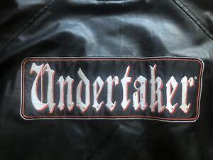 RARE Vintage WWE Undertaker Jacket Size XXL
