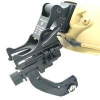 Tactical FAST Metal Helmet Mount & Aluminium Alloy J Arm for Pulsar GS1X20 NVG
