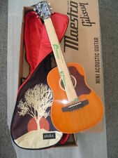 "Maestro By Gibson 30"" Mini-Acoustic Guitar WITH Phitz Tree of Life Case"