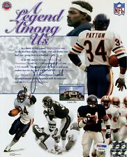 A Legend Among Us Walter Payton Autographed Photo Collage PSA DNA Certificate