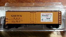 Micro Trains 05900162 MERX MERCHANTS DISPATCH 40' Steel Ice Reefer #543 NPC